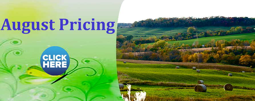 August Pricing available here