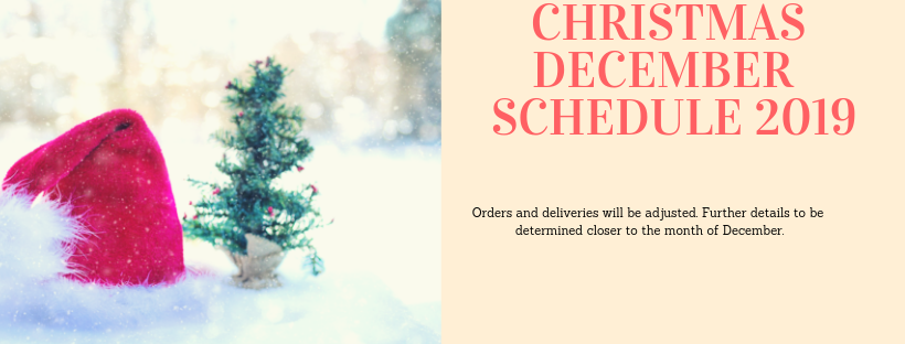 Christmas Banner for Holiday Schedule