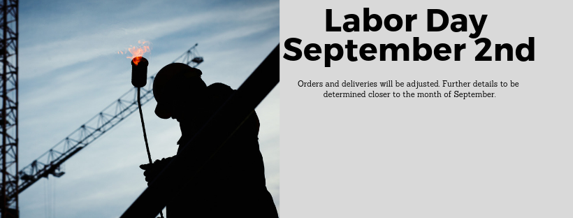 Labor Day Banner for Holiday Schedule
