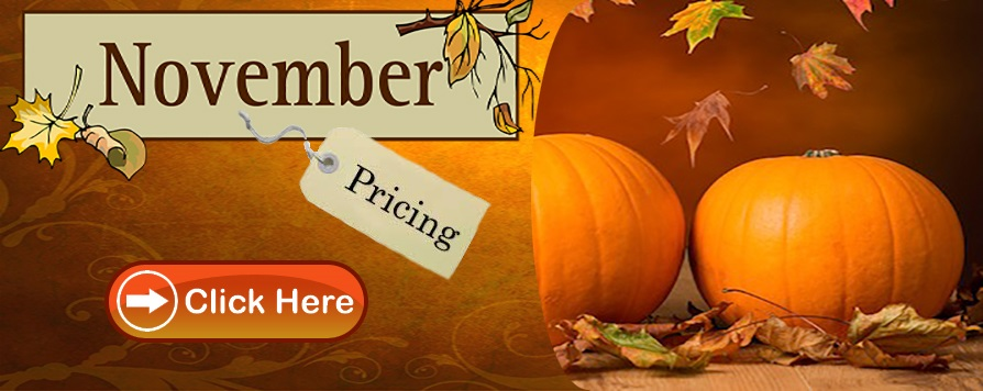 November Pricing available here