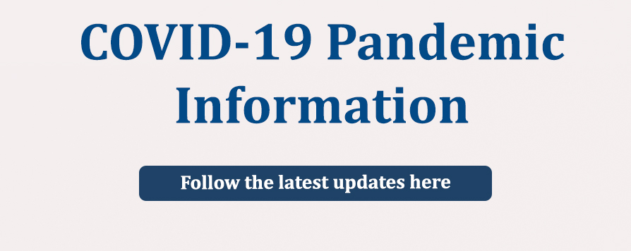 COVID-19 Pandemic information: follow the latest updates on the ABD website