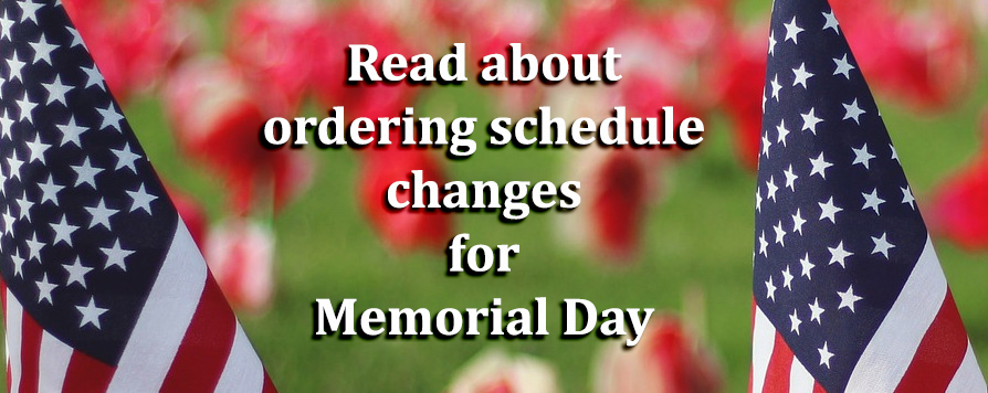 Read about Memorial Day Schedule Changes