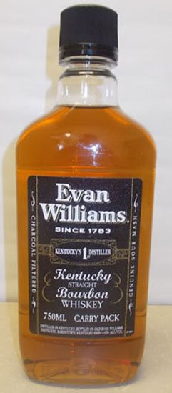 Evan Williams Black PET