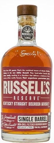Russells Reserve Single Barrel Bourbon
