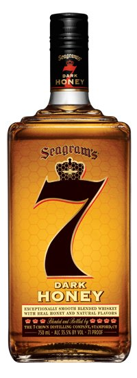 Seagrams 7 Crown Dark Honey
