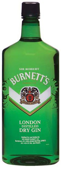 Burnetts Gin London Dry