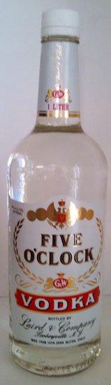 Five O'Clock Vodka