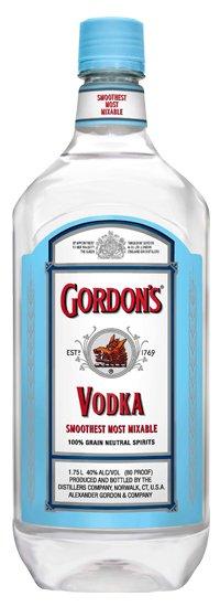 Gordons 80prf Vodka PET