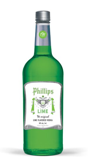 Phillips Lime Vodka