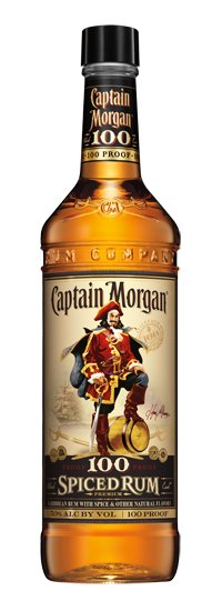 Captain Morgan 100prf Spiced Rum