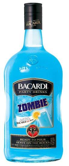 Bacardi Party Drinks Zombie
