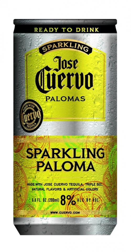 Jose Cuervo Sparkling Paloma 4pk Cans : Iowa ABD