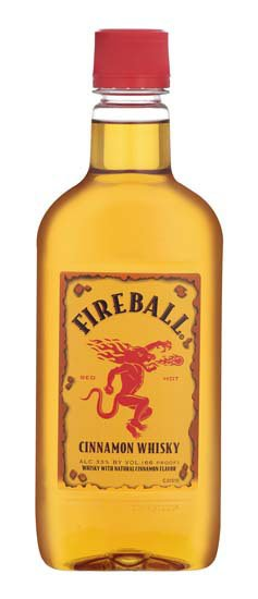 Fireball Cinnamon Whiskey PET