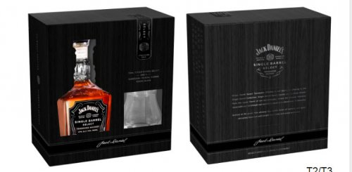 Jack Daniels Single Barrel w/Snifter Glass