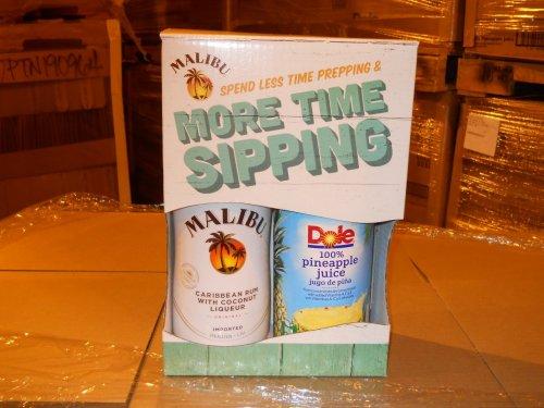 Malibu 1.75L w/Dole Pineapple Juice