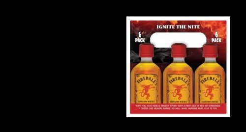 Fireball Cinnamon Whiskey 100ml Carrier