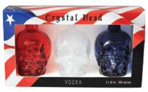 Crystal Head Vodka Mini Patriotic Package