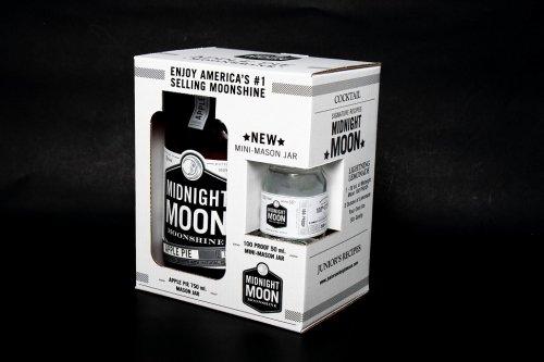 Midnight Moon Apple Pie 750ml w/100prf 50ml