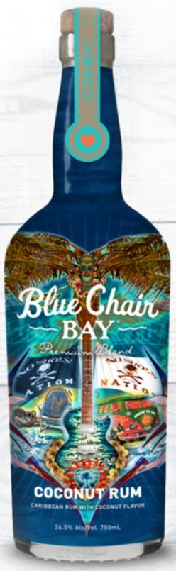 Blue Chair Bay Coconut Rum 2019 Commemorative Wrap