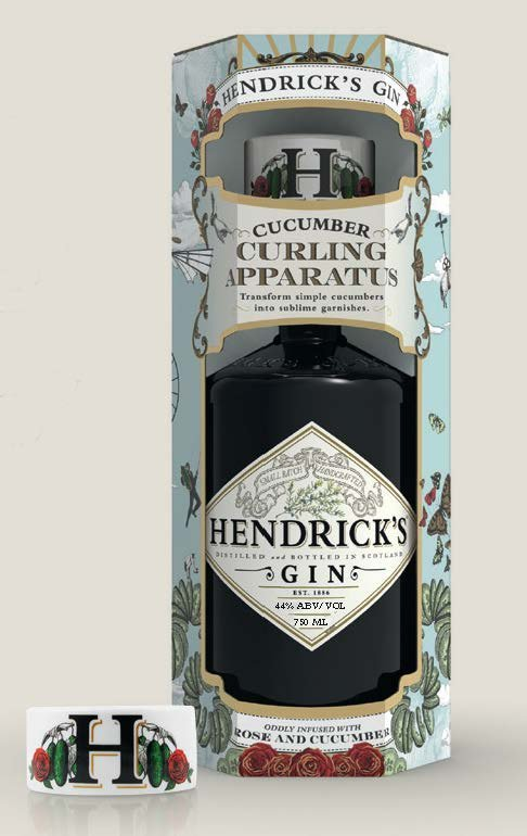 Hendricks w/Cucumber Curler