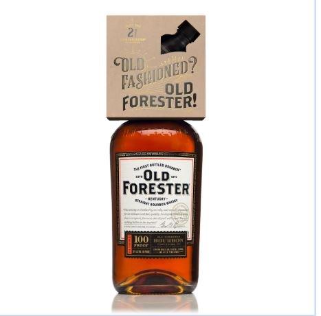 Old Forester OldFsh w/ 2oz Syrup
