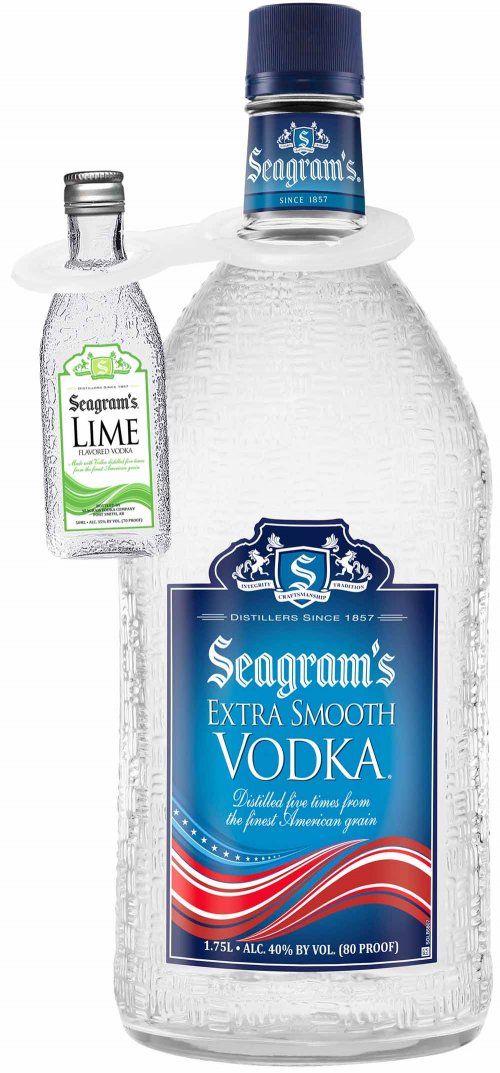 Seagrams Extra Smooth w/Lime 50ml