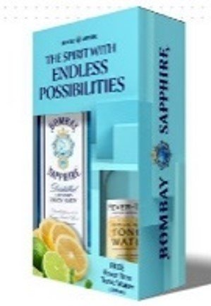 BOMBAY SAPPHIRE WITH TONIC PACK