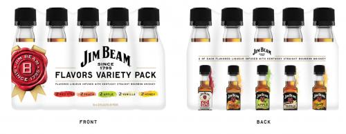 Jim Beam Flavors 50ML Variety Pack