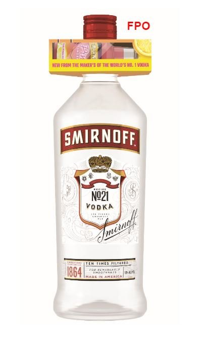 Smirnoff w/50ml Pink Lemonade