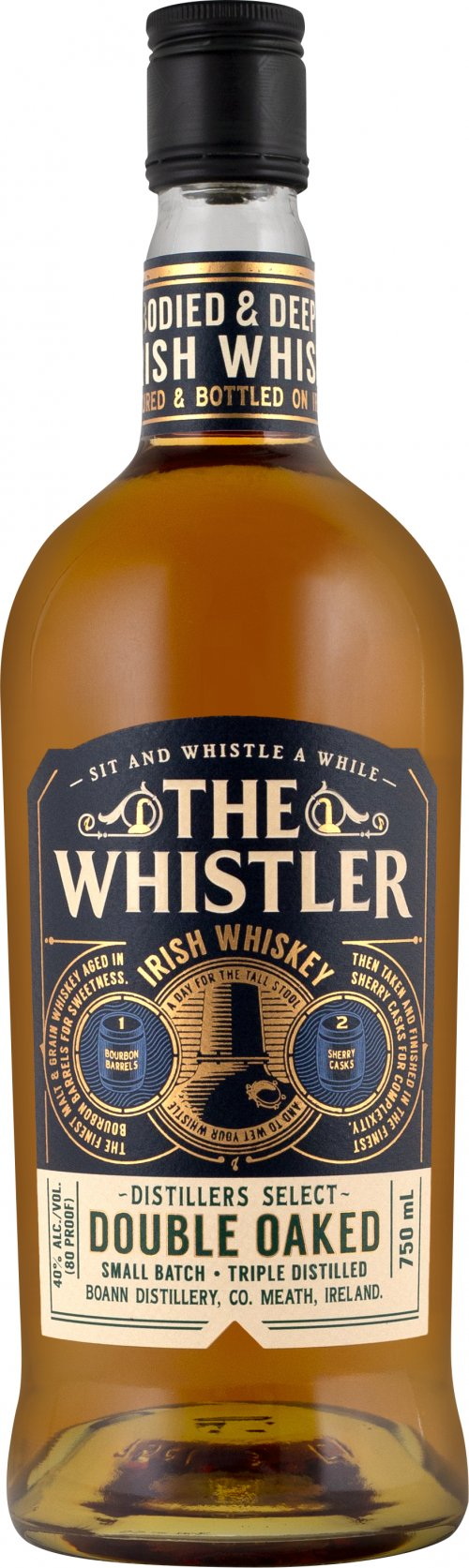 Whistler Double Oaked Irish Whiskey