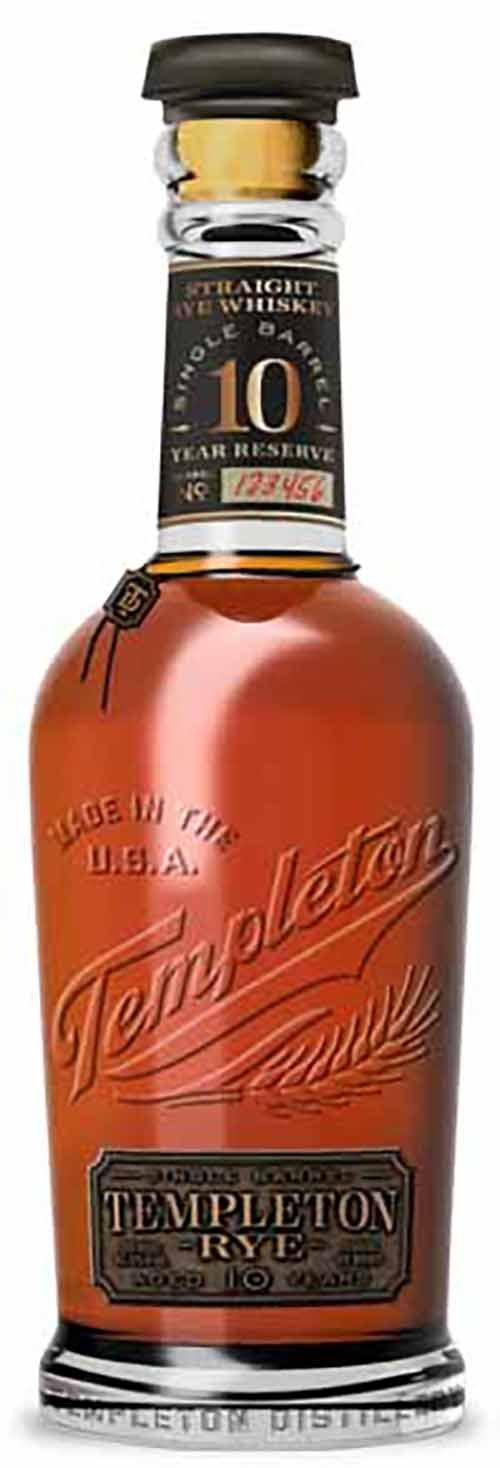 Templeton 10YR Single Barrel Rye