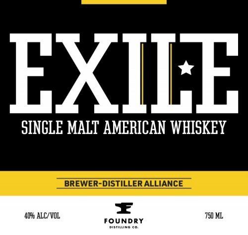 Exile Single Malt American Whiskey