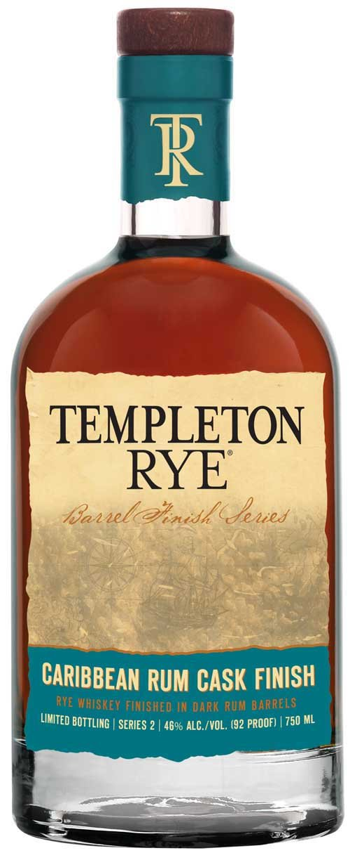 Templeton Rye Caribbean Rum Barrel Finish