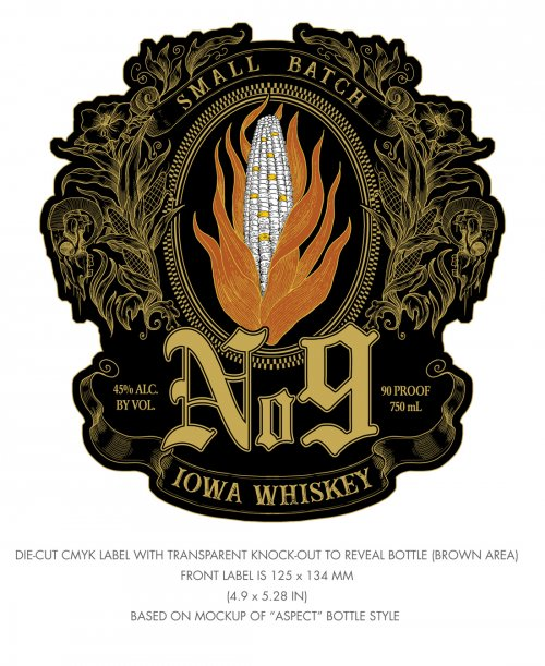 Slipknot Iowa Whiskey No. 9