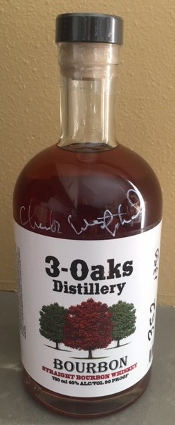 3-Oaks Distillery Straight Bourbon Whiskey