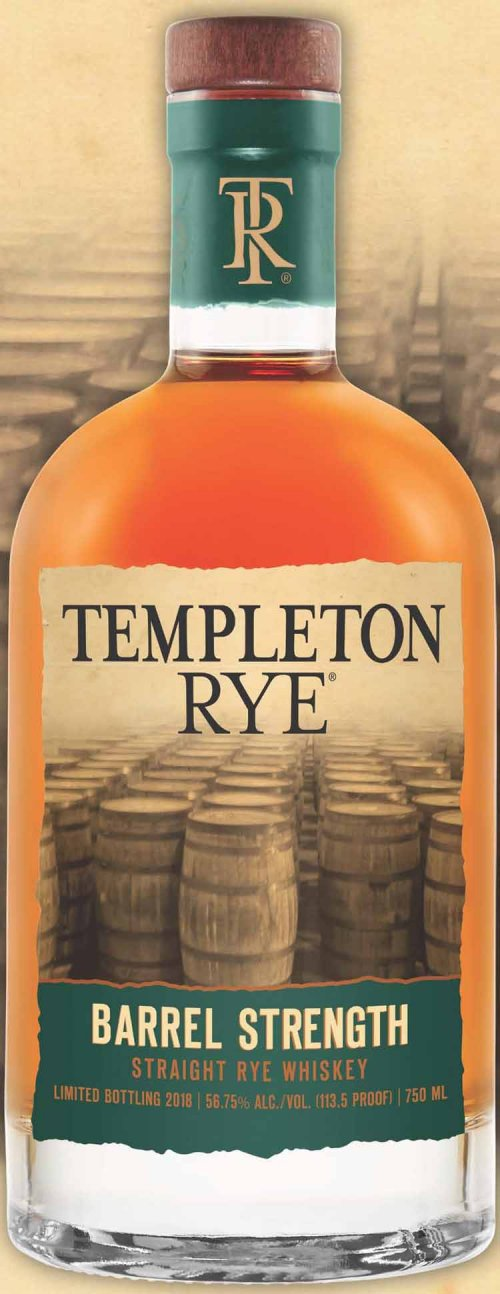 Templeton Rye Rare Cask Strength