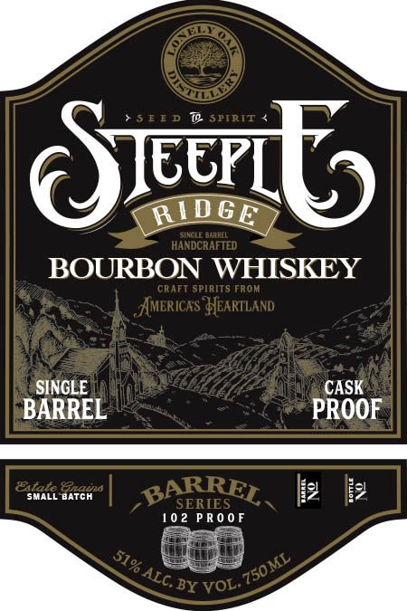 Steeple Ridge Bourbon Single Barrel