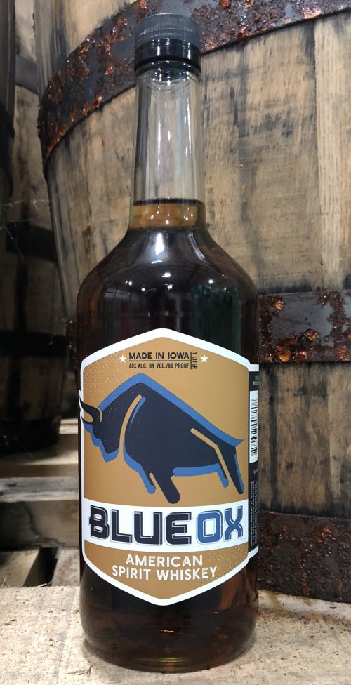 Blue Ox American Spirit Whiskey