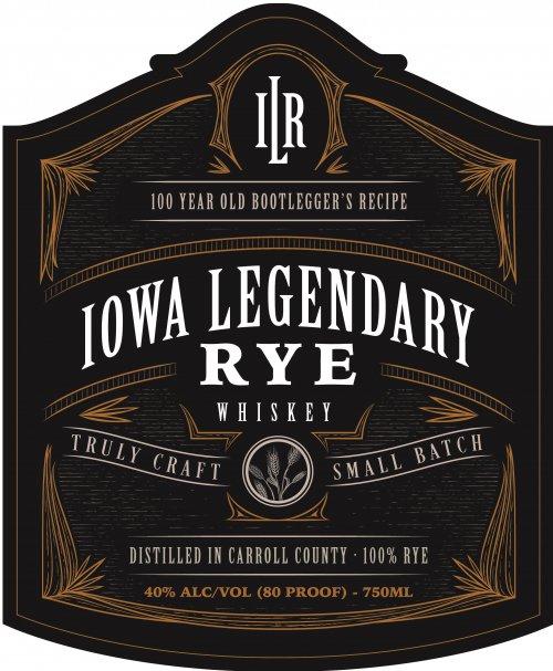 Iowa Legendary Rye Aged