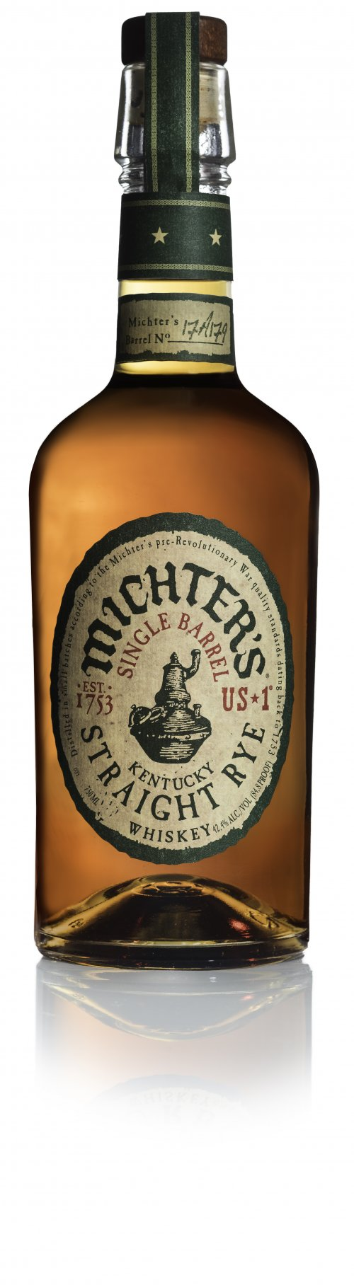 Michters US*1 Kentucky Straight Single Barrel Rye