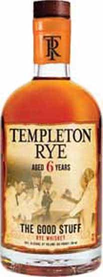 Templeton Rye 6YR