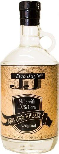 Two Jays Iowa Corn Whiskey