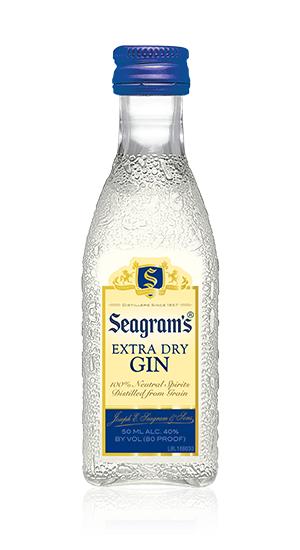 Seagrams Extra Dry Gin Mini