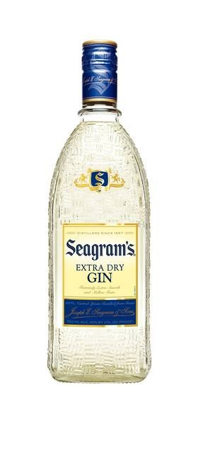 Seagrams Extra Dry Gin PET