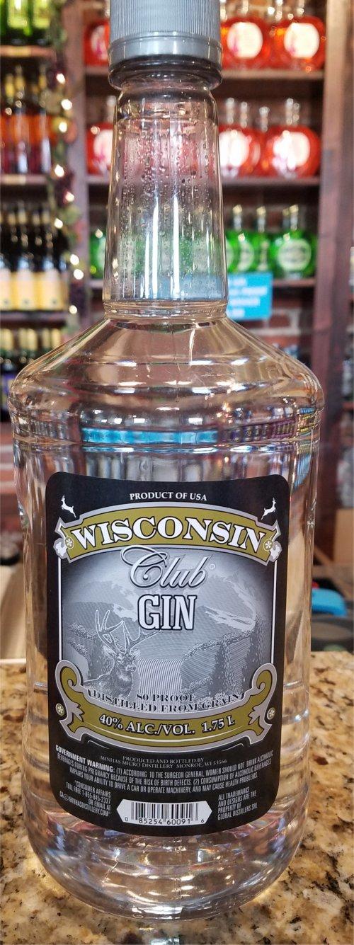 Wisconsin Club Gin