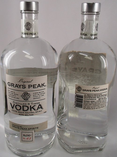 Grays Peak Vodka