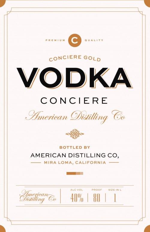 Conciere Vodka