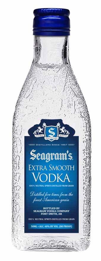 Seagrams Extra Smooth Vodka Mini