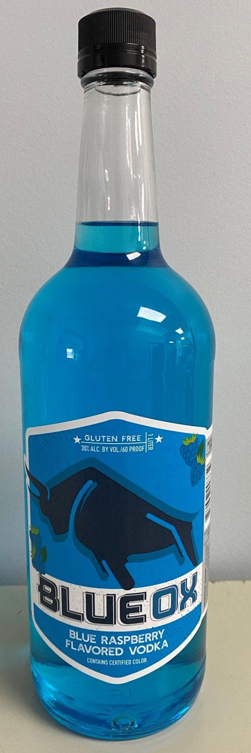 Blue Raspberry Vodka