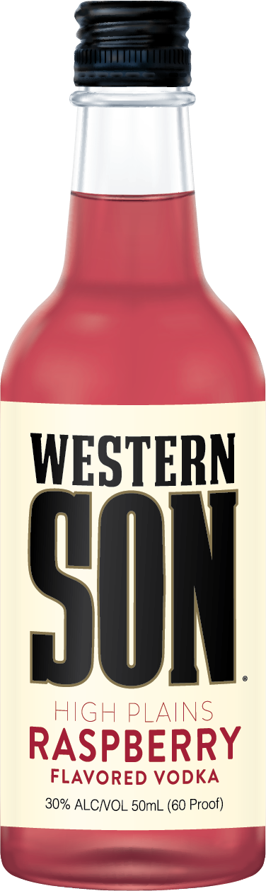 Western Son Raspberry Vodka Mini